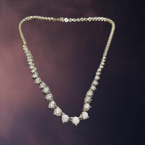 🆕 Artificial Diamond Necklace